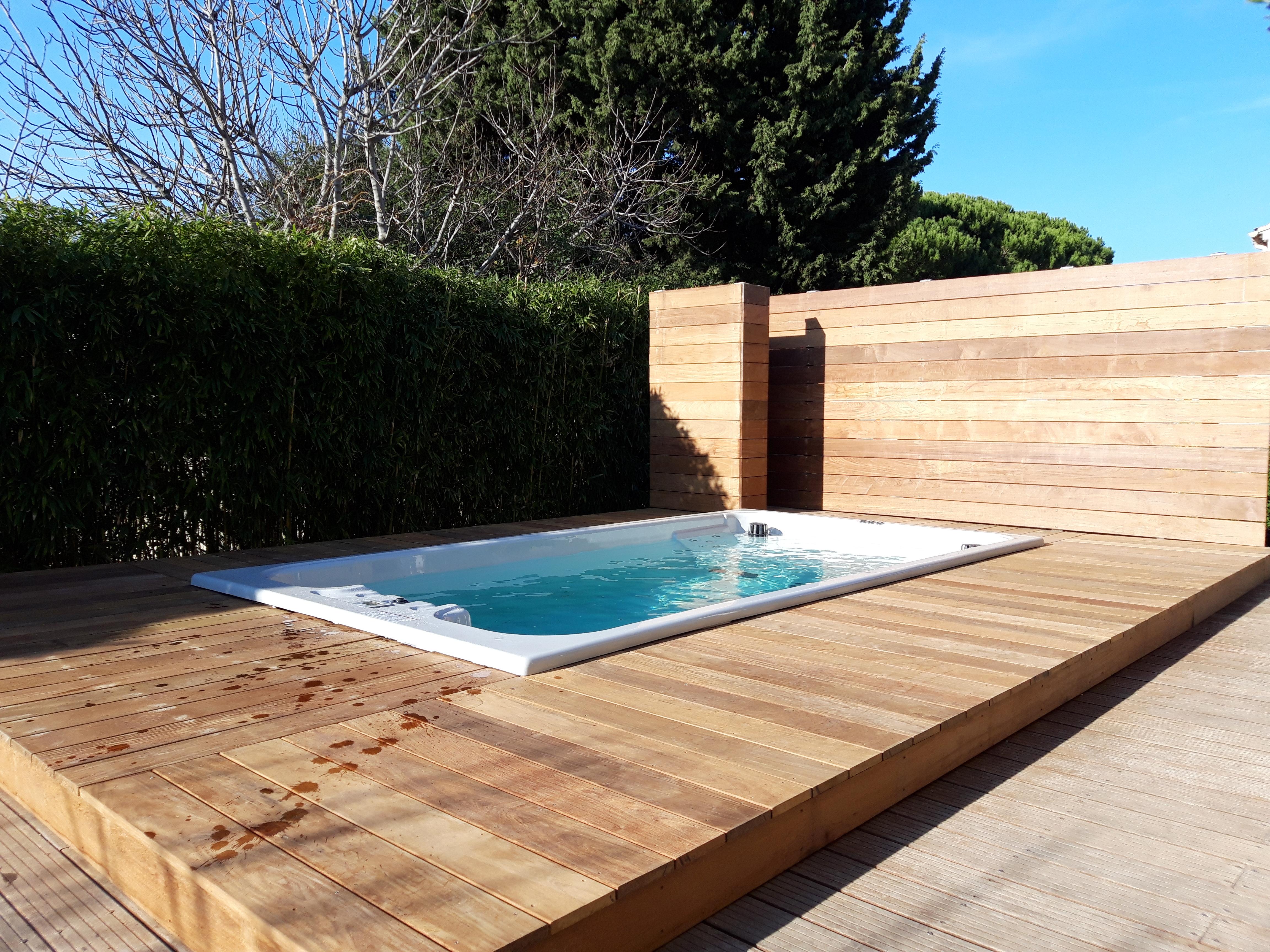 Terrasse bois à Villeneuve les Avignon