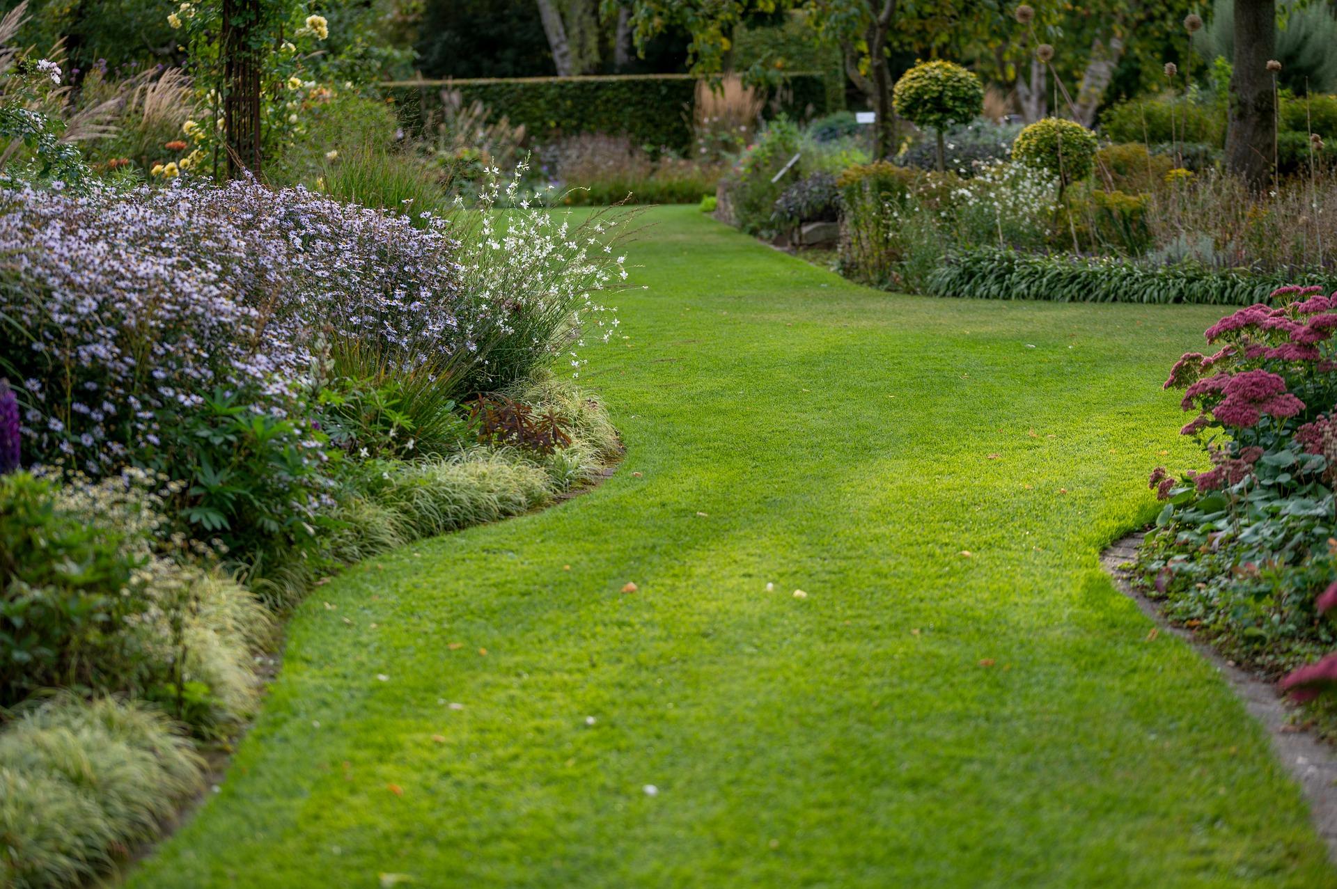 Aménagement de jardin avec la création d'un massif de plantes Villeneuve les avignon